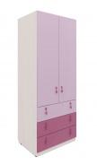 Dětská šatní skříň Aurora II - výběr odstínů