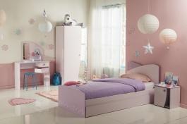 Dětský pokoj Frozen I - světle růžová/fialková