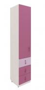 Dětská skříň Aurora II, levá - výběr odstínů
