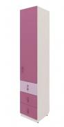 Dětská skříň Aurora II, pravá - výběr odstínů