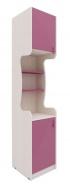 Úzká skříň Aurora I, levá - výběr odstínů