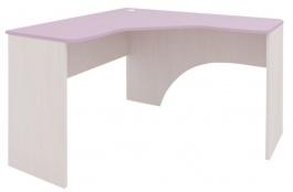 Rohový psací stůl Aurora - výběr odstínů