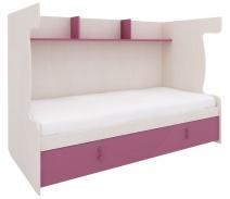 Sestava pro patrovou postel Aurora IV - výběr odstínů