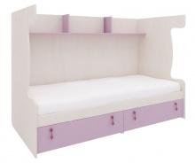 Sestava pro patrovou postel Aurora III - výběr odstínů