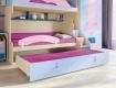 Bližší záběr na patrovou postel Aurora