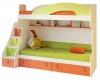 Dětská patrová postel Aurora II 90x200cm, pravá - výběr odstínů