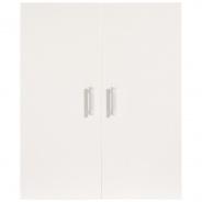 Dveře k regálům Nero - bílý lesk