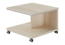 Mobilní konferenční stolek Lorenc - akát světlý