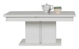 Rozkládací konferenční stolek Irma - bílý