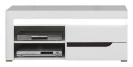 Televizní stolek Irma - bílý / wenge