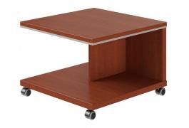 Mobilní konferenční stolek Lorenc - višeň
