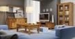 Obývací pokoj s masivním nábyktme