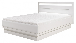 Manželská postel Irma 160x200cm - bílá