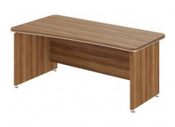 Psací stůl Lorenc 180x95cm levý - ořech