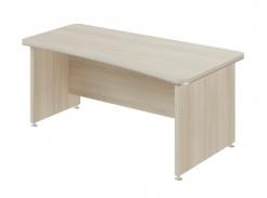 Psací stůl Lorenc 180x95cm pravý - světlý akát
