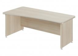 Psací stůl Lorenc 200x100cm levý - akát světlý