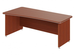 Psací stůl Lorenc 200x100cm levý - višeň