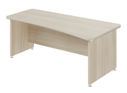Psací stůl Lorenc 200x100cm pravý - akát světlý