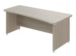 Psací stůl Lorenc 200x100cm pravý - driftwood
