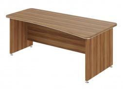 Psací stůl Lorenc 200x100cm pravý - ořech