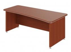 Psací stůl Lorenc 200x100cm pravý - višeň