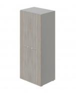 Šatní skříň dvoudvéřová Lorenc II - šedá/driftwood