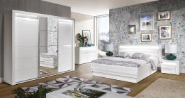 Ložnice Irma II - výběr rozměru postele