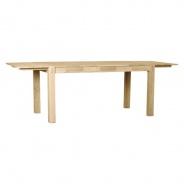 Přídavná deska k jídelnímu stolu Hardy (set 2ks) - dýha dub