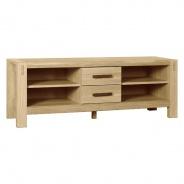 Televizní stolek Hardy - dýha dub