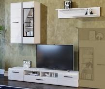 Obývací stěna ROSSO II bílá