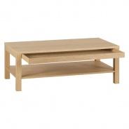 Konferenční stolek Nando - dýha dub