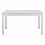 Jídelní stůl obdelníkový Nora - bílá