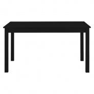 Jídelní stůl obdelníkový Nora - černá
