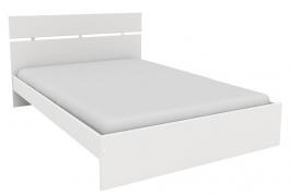 Levná postel Space 140x200 cm - bílá