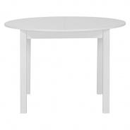Kulatý jídelní stůl Nora - bílá