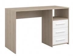 Psací stůl Josephine - dub jackson / bílá