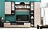 Moderní obývací stěny