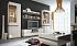 Lesklé obývací stěny