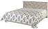 Čalouněné manželské postele