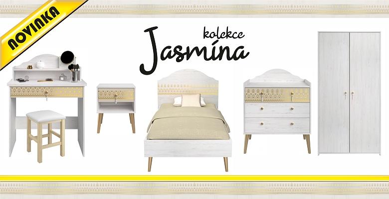 NOVINKA - Dívčí nábytek Jasmína s nádechem orientu
