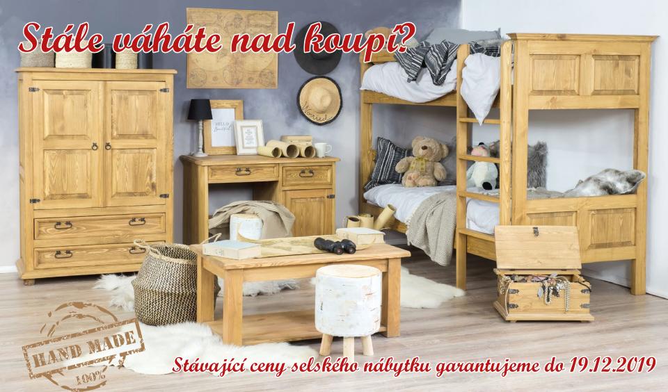 Masivní selský nábytek
