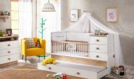Rostoucí postýlka je multifunkčním nábytkem, který se vyplatí