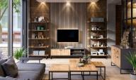 Industriální nábytek vhodný do každého obývacího pokoje