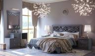 Ponořte se do klidu neoklasické ložnice Ofélie