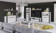 BRANDO - moderní bílý nábytek ve vysokém lesku – luxusní vzhled za pár korun