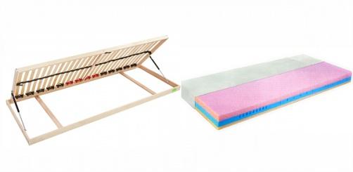 R3 boční výklop + matrace Relax 16cm