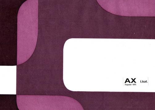 AX - Kat. I., Polyester 100%