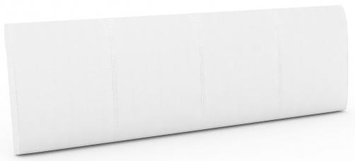 D-511 - bílá, textilní kůže PU