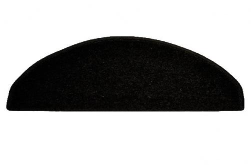 koberec na schody černý