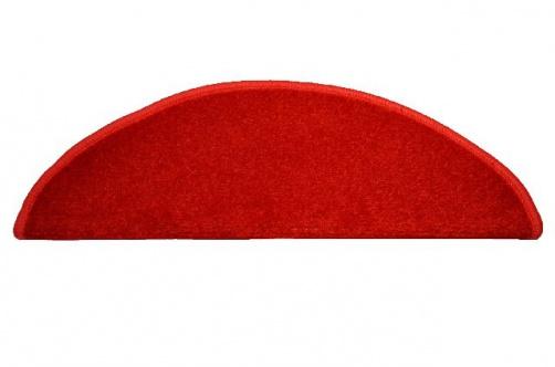 koberec na schody červený
